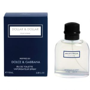 Dollar & Dollar Pour Homme - Dolce & Gabbana Version, Impression, Type