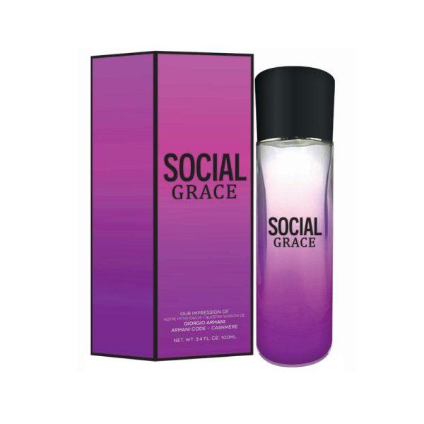 Social Grace, Eau de Toilette - Code, Cashmere Alternative, Version, Type